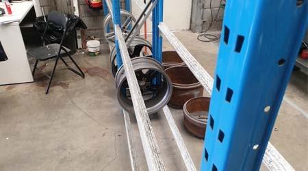 佛山轮胎货架都有哪些样式可选择?【易达货架】