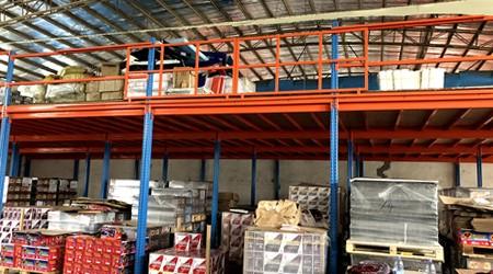 3米高的仓库可以定做灯具库房双层货架吗?[易达货架]