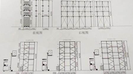 广州仓储货架摆放设计图要注意这些细节