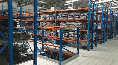 东莞阁楼式仓储货架的有效使用面积是多少?[易达货架]