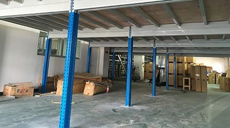 抱焊立柱在广州仓储货架中所起的作用