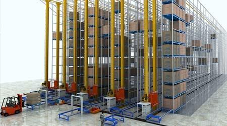 东莞仓储式货架厂助力5G时代正式开始
