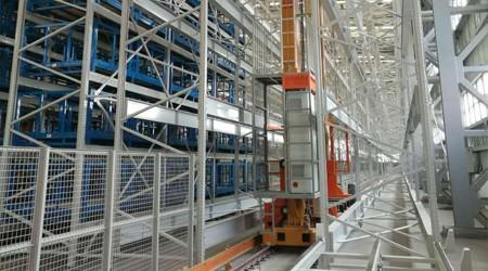 仓库有柱子怎么设计汽车工厂立体仓库货架?【易达货架】