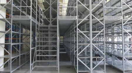 珠海阁楼仓储货架用于哪些行业仓库?[易达货架]