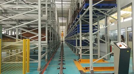 堆垛机式立体仓库不只是代替人工那么简单【易达货架】