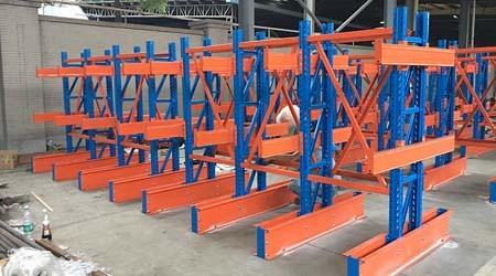 悬臂板材重型货架的用途及优势,定制更简单