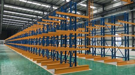 深圳仓储货架厂家悬臂式货架如何设计更适合存储货物