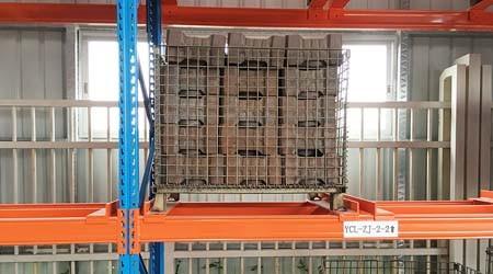 4爪挂片的清远可调节式托盘货架对承重的作用【易达货架】