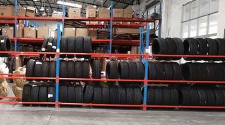 汽车轮胎仓库货架结构是怎么样的?【易达货架】