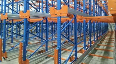 如何检验定制的韶关重型仓储货架是否合格?【易达货架】