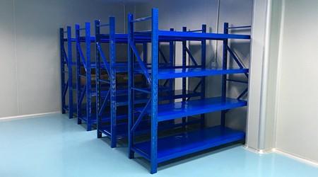快递中型重型货架仓储货架如何摆放好?【易达货架】