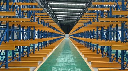 东莞悬臂式仓储货架制作工艺和结构优势