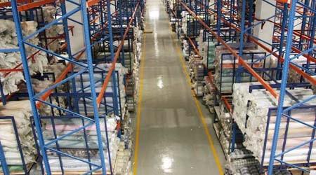 如何培训布匹布料仓库货架使用知识