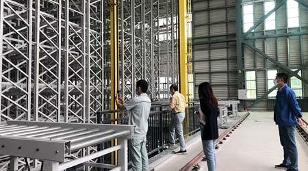 库房平台货架厂自动化高层仓库货架的优越性【易达货架】