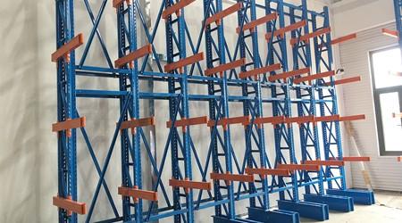 悬臂式仓储货架厂可以租赁高位货架吗?【易达货架】