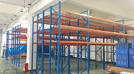 汕头重型层板货架的生产流程及时间【易达货架】