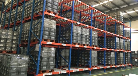 桂林物流重力式货架厂家联系方式【易达货架】