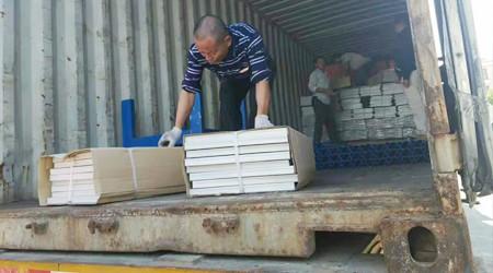出口泰国的高位仓储货架已到达客户仓库[易达货架]