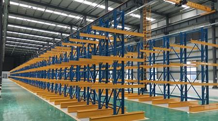 库房货架生产厂家的悬臂式货架的使用优点有哪些?[易达货架]