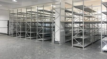 电器厂惠州阁楼仓储货架的构造