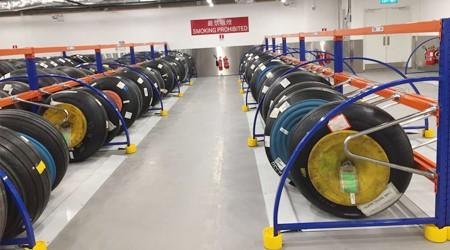 广州仓库重型货架厂家轮胎货架有现货吗?【易达货架】