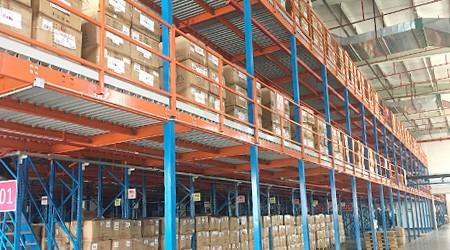 阁楼平台货架制造公司仓储货架的5大功能【易达货架】