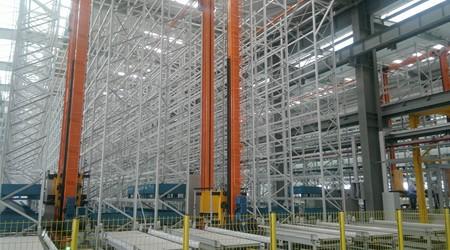 广东流利式货架厂家简述冷库、立库、平库的区别【易达货架】