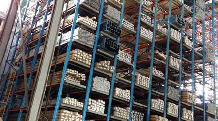 企业大型佛山铝材重型货架全自动【易达货架】