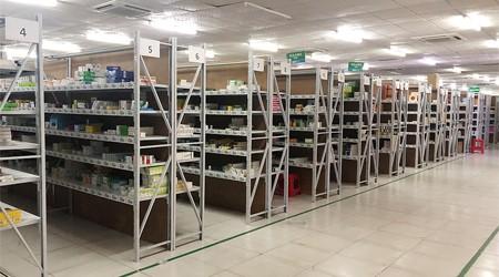 广州搁板货架,简单药品仓储货架【易达货架】