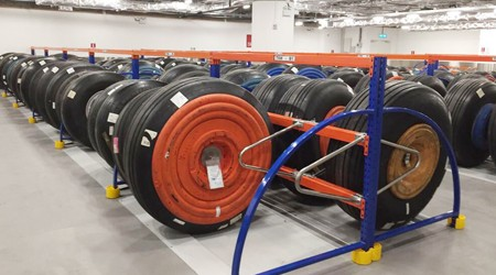 货架仓储架生产厂家轮胎货架定制多少钱?【易达货架】