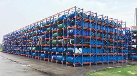 台风天气担心安装在室外的仓库货架倒塌怎么办?