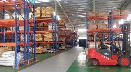 减少叉车与广州重型仓库货架之间碰撞的方法