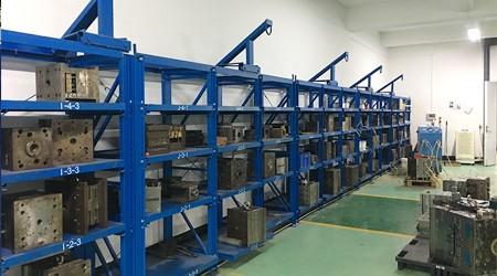 仓库货架制造厂家抽屉式模具货架有哪些特点[易达货架]