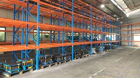 危化品库房是否能安装组合横梁重型货架?【易达货架】
