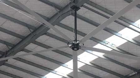 3000多方的体育馆需要安装多少台佛山工业大风扇?【易达货架】