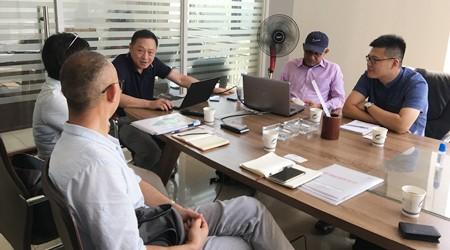 马来西亚客户来易达常平重型货架生产厂家定制自动化立库[易达货架]