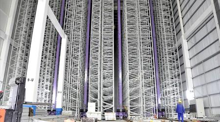 广东立体仓库货架工厂简述智能货架对企业的优势【易达货架】