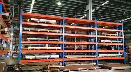 电梯行业存储板材使用哪种广州仓储货架更合适?