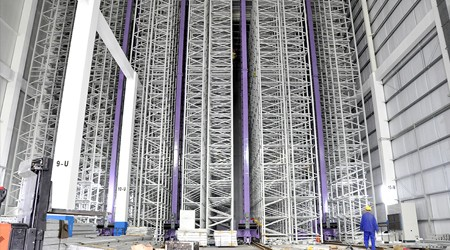 20米高仓库适合使用哪种中山物流仓库货架?【易达货架】